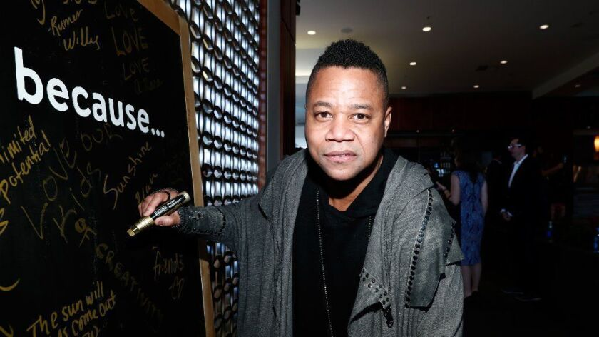 Actor Cuba Gooding Jr. is one of the celebrity guests to attend the Gold Meets Golden event on Jan. 7.