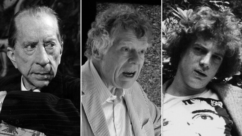 Family patriarch J. Paul Getty, left, son Gordon Getty and grandson J. Paul Getty III, who was kidnapped as a teen, in undated photos. The recent death of Andrew Getty, son of Gordon Getty, marks another tragic turn for the family.
