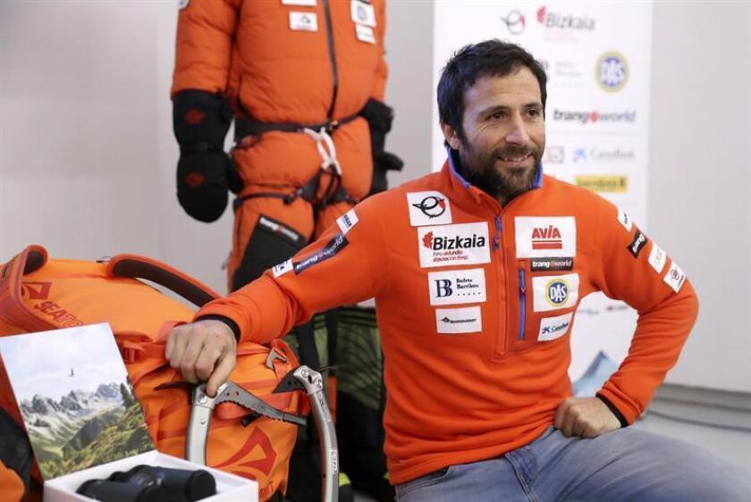 El alpinista Alex Txikon. EFE/Archivo