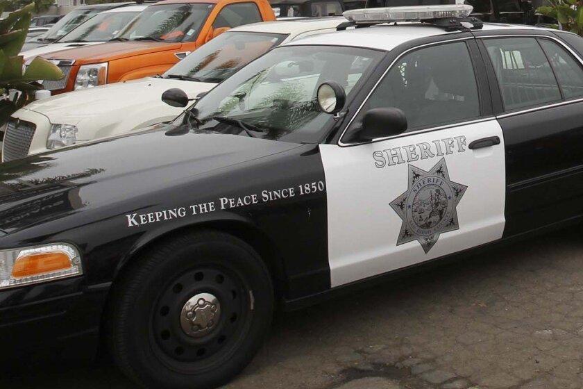 A sheriff's vehicle. [Union-Tribune file]