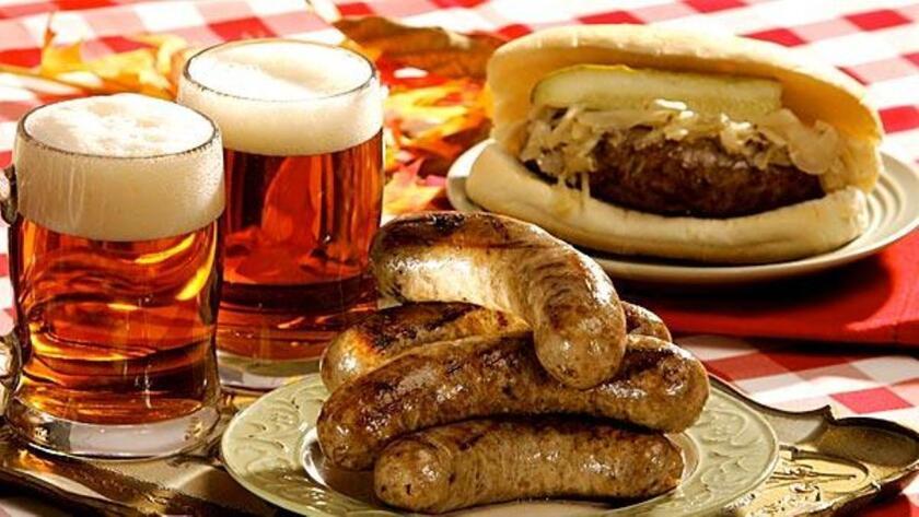 Homemade bratwurst