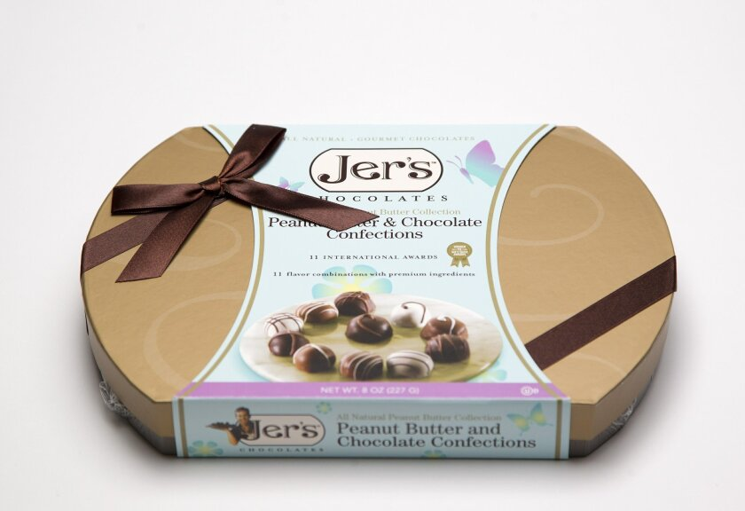 Jer's assorted chocolates.