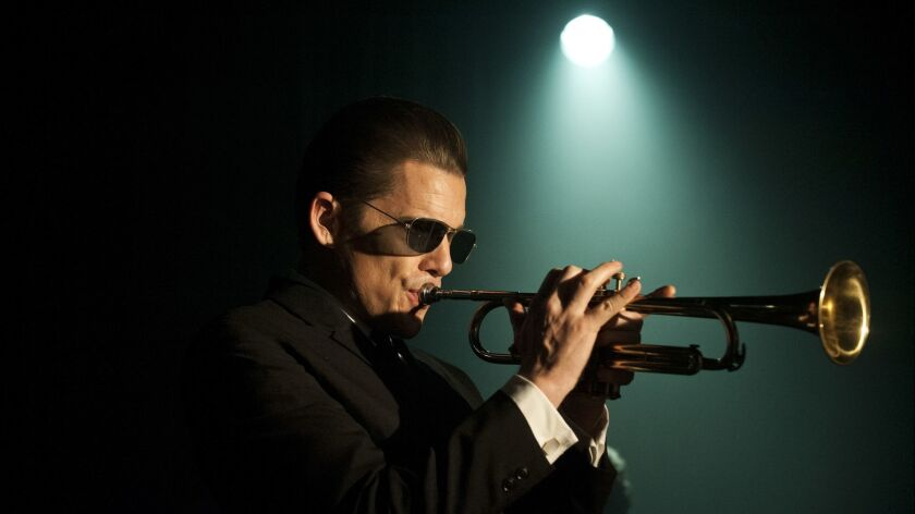 "Ethan Hawke (Chet Baker) in Robert Budreau's, ""Born to Be Blue."""