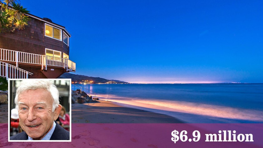 The Malibu beach home of late actor Henry Gibson is listed at $6.9 million.