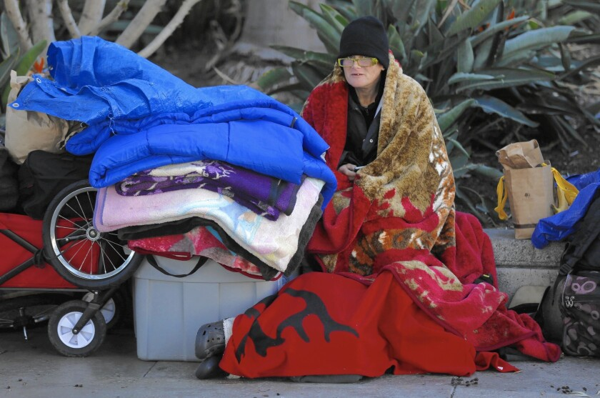 Homeless in L.A.