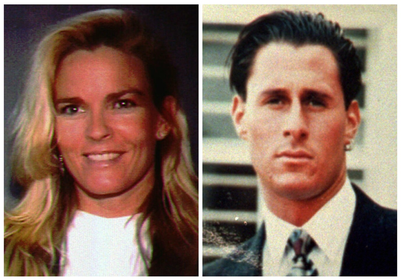 """Nicole Brown Simpson, left, and her friend Ron Goldman were found dead in Los Angeles on June 12, 1994. Hall of Fame football star O.J. Simpson was charged with the murders of Nicole and Goldman, but a jury later found him not guilty in what some call the """"Trial of the Century."""""""