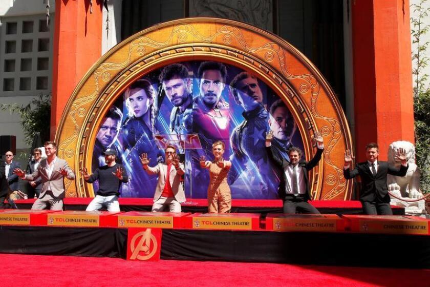 """Avengers: Endgame"", récord histórico para la era dorada de los superhéroes"