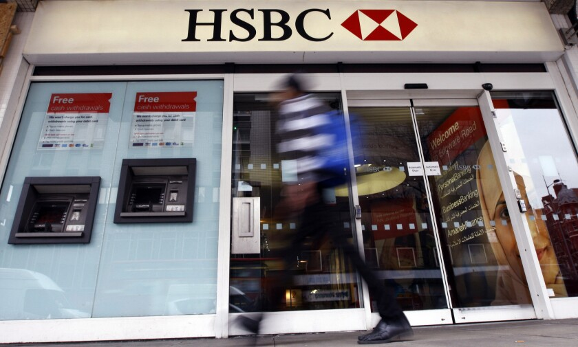 HSBC chief executive is leaving after 18 months on the job - Los
