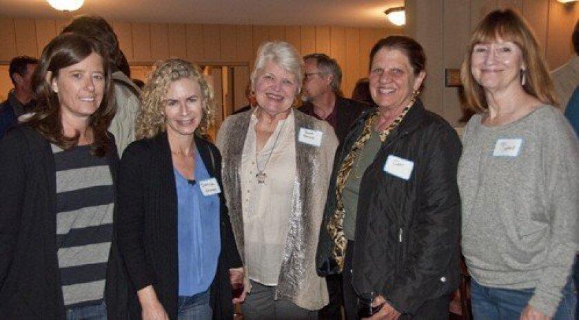Martha Ratzer, Danica Sheres, Donna Golich, Jan Wier, Vicki Cypherd (Photo: Claire Harlin)