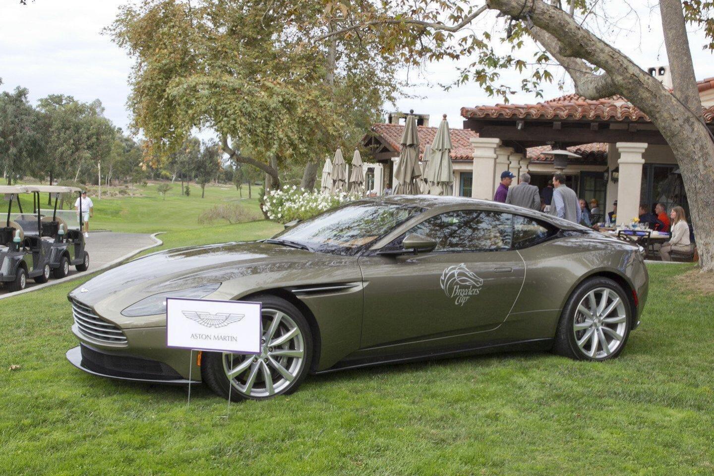 Aston Martin on display at the Furlongs and Fairways Classic