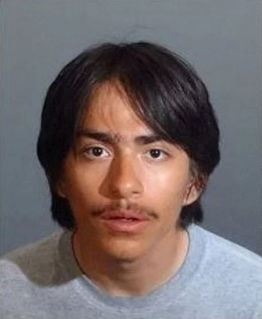 Eddie Alvirez, 18, turns himself in after being sought in connection with the fatal shooting of his 13-year-old sister.