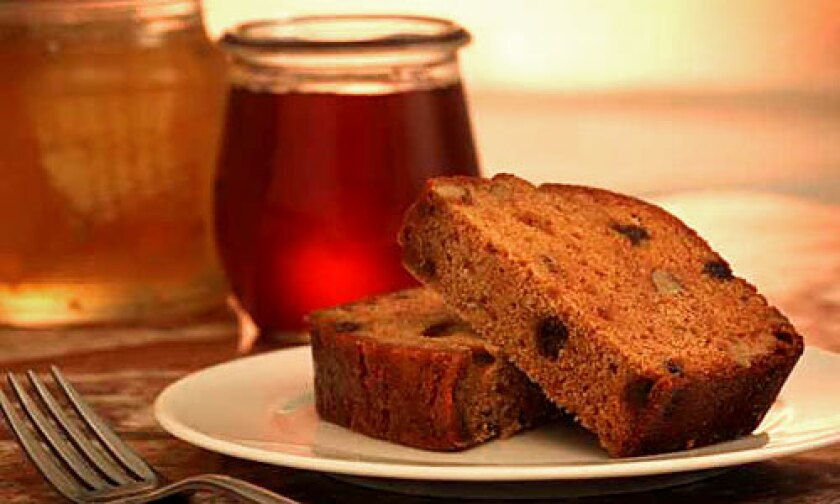 ROSH HASHANA TRADITION: The honey cake is richer when it is allowed to set a week.
