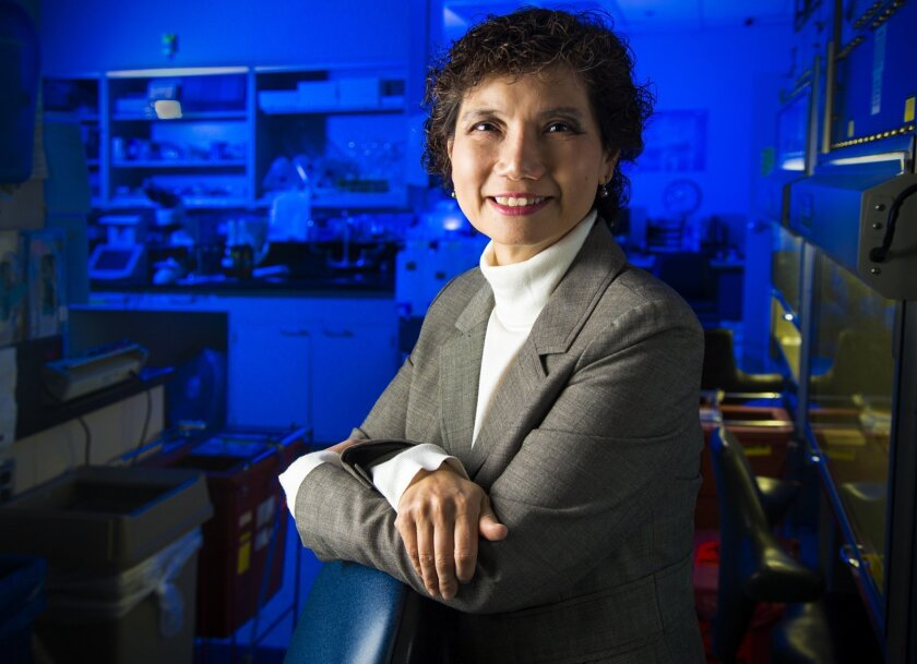 Jessica Wang-Rodriguez, M.D., is the chief of pathology and laboratory medicine at the Veterans Affairs Healthcare System in La Jolla and is a researcher on a new study showing e-cigarettes damage cells in a way that could lead to cancer.
