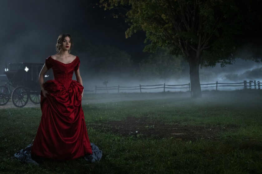 "Hailee Steinfeld as Emily Dickinson in the Apple Original series ""Dickinson"""