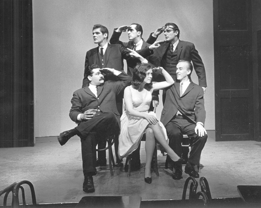 Second City players