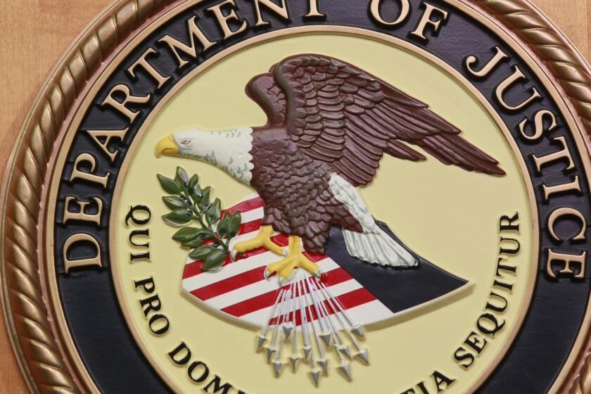 Logotipo del Departamento de Justicia