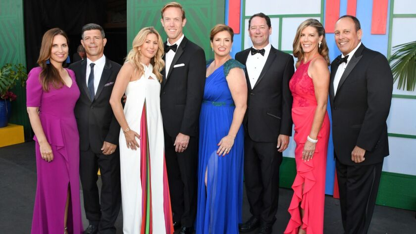 Nicole and Leandro Velazquez, Kelly and Jason Kent, Jennifer and Matthew Edstrom, Sherry and Jeff Macelli