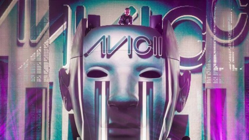 Avicii is one of the EDM artists scheduled to perform at the Electric Daisy Carnival -- At Night