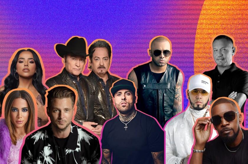 Anitta, Anuel AA, Becky G, Nicky Jam, Wisin, Ryan Tedder, Jamie Foxx, Los Tigres del Norte y Walter Kolm se unen a la fiesta.