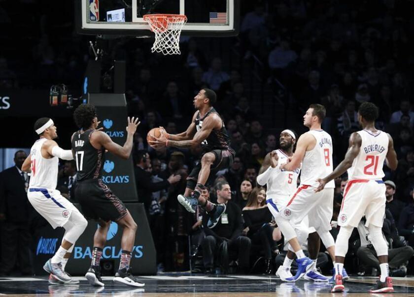 El italiano Danilo Gallinari logró 28 puntos para los Clippers de Los Ángeles, que vencieron a domicilio 119-127 a los Nets de Brooklyn. EFE