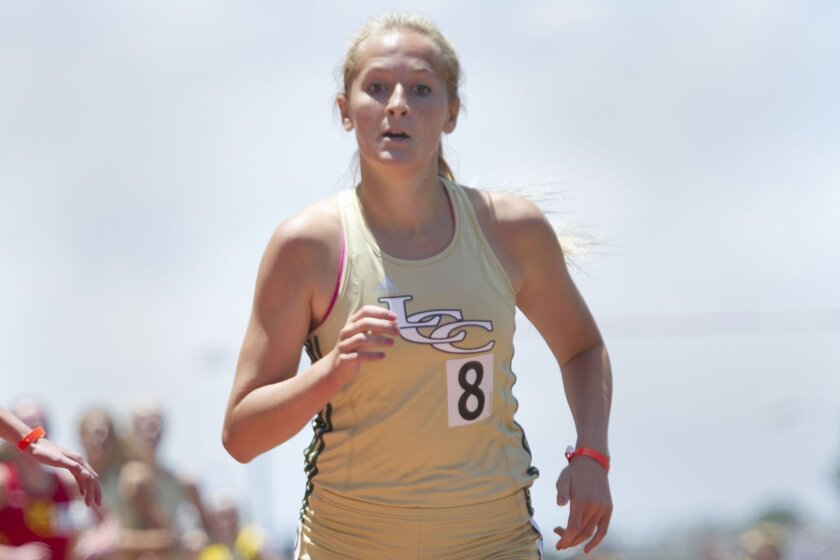 La Costa Canyon senior Emma Abrahamson will try to put an exclamation point on her high school running career.