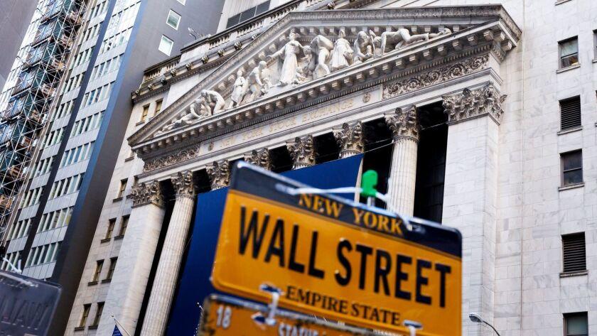 New York Stock Exchange, USA - 20 Nov 2018