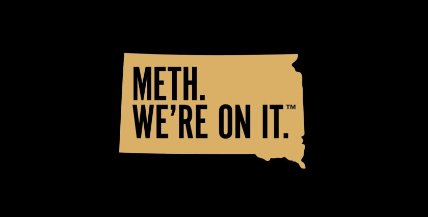 South Dakota is taking heat for its antidrug campaign.