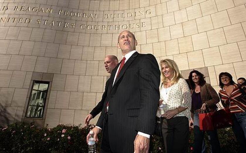 Carona leaves federal court