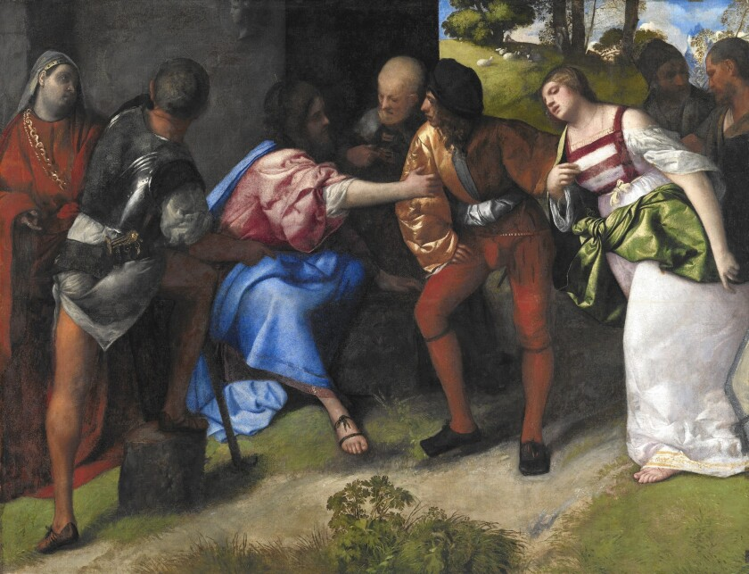 Botticelli Titian Review
