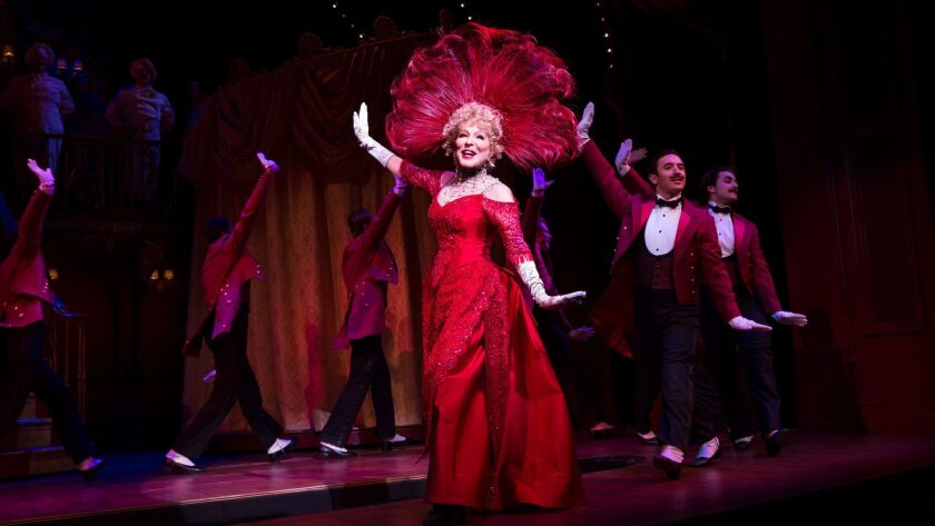 "A lock? Bette Midler in ""Hello, Dolly!"""