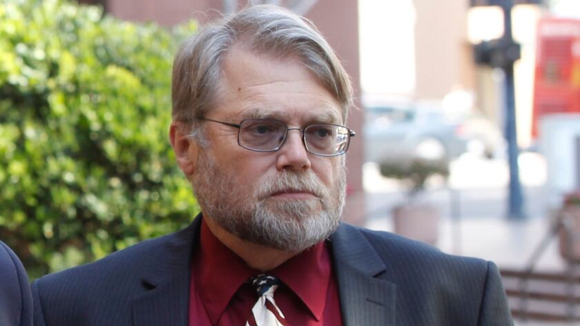 San Diego Superior Court Judge Gary Kreep, shown in this file photo from April 2012, is facing a disciplinary hearing from the state Commission on Judicial Performance.