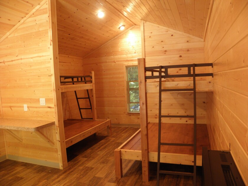 New rustic cabins add to camping options at three Northern