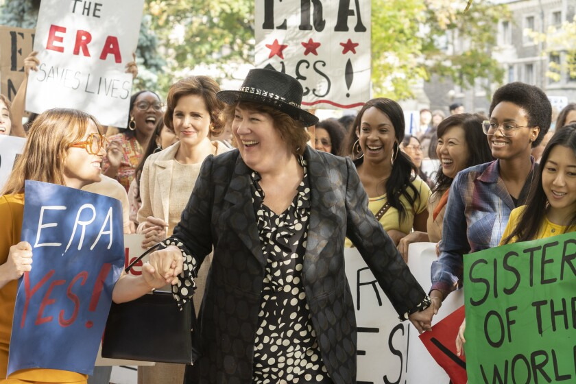 "Margo Martindale as Bella Abzug in ""Mrs. America."""