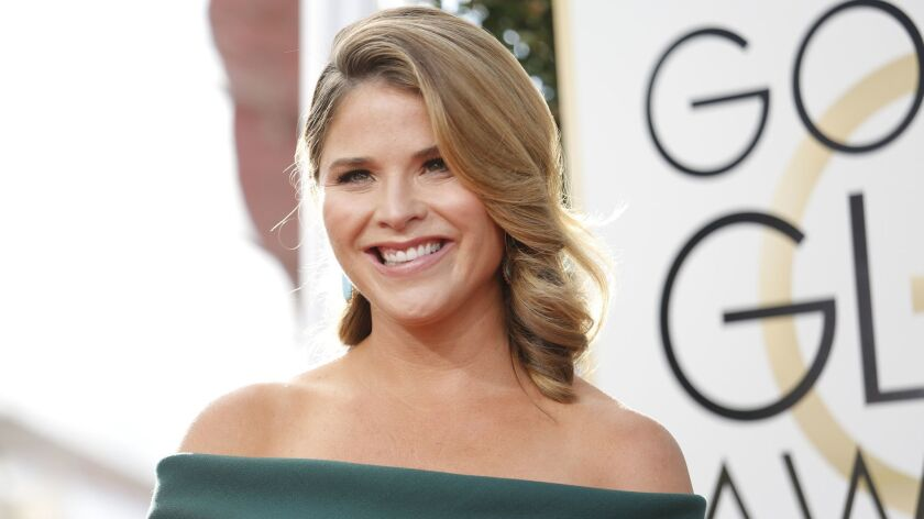 BEVERLY HILLS, CA - January 8, 2017 Jenna Bush Hager arriving at the 74th Annual Golden Globe Awards