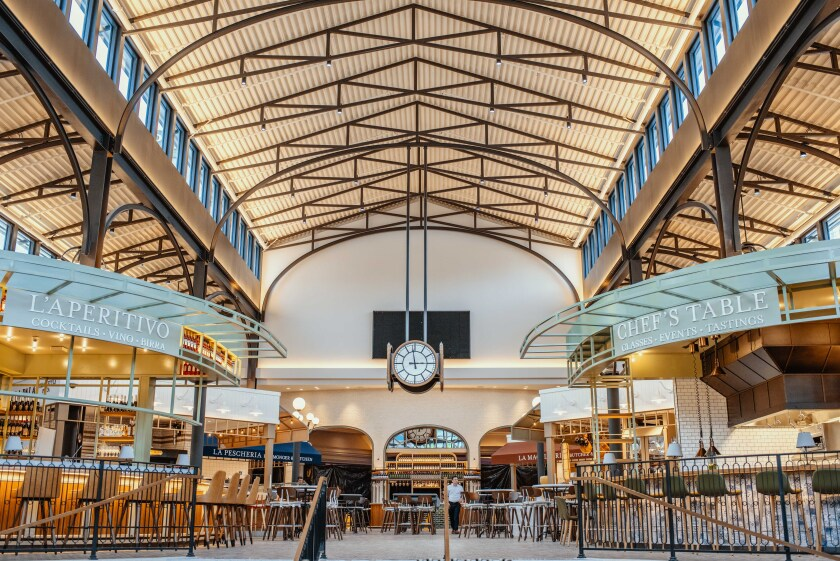 Eataly Las Vegas is an Italian food lover's dream. Come hungry and often.