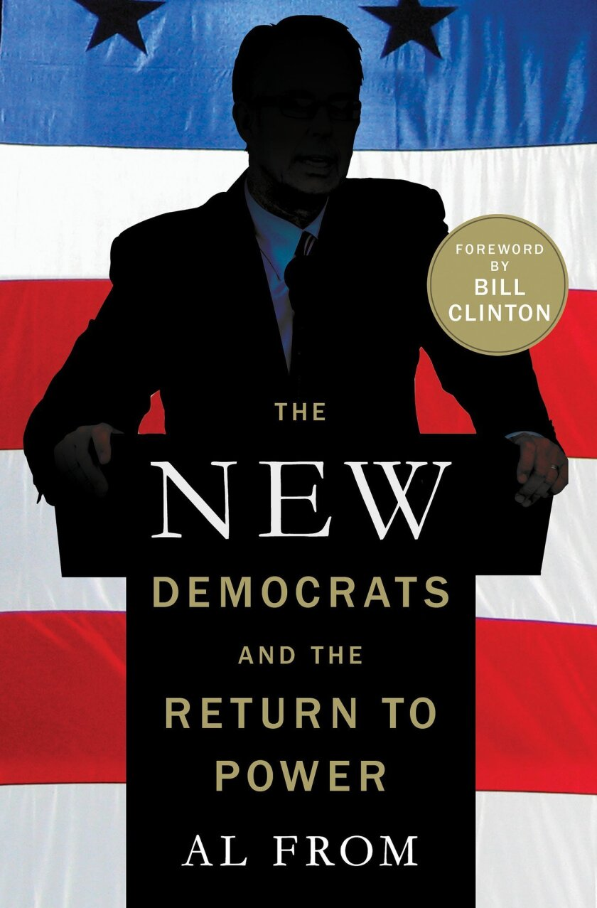 """This book cover image released by Palgrave MacMillan shows """"The New Democrats and the Return to Power,"""" by Al From. (AP Photo/Palgrave MacMillan)"""