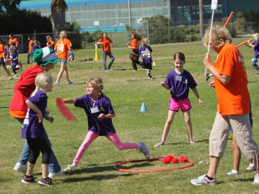 Local children have a ball at KidsGames