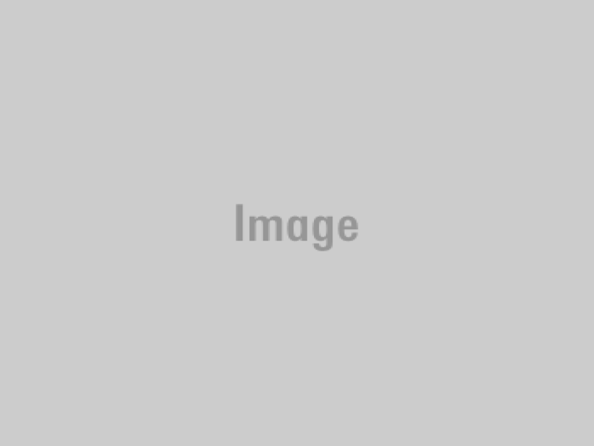 A December 1955 image of the tower of the Plaza Methodist Church next to Olvera Street in Los Angeles.