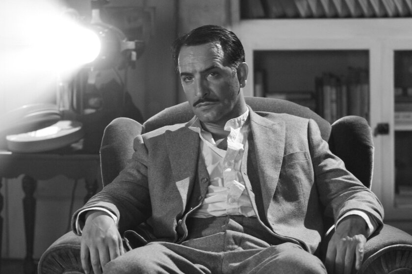 "Jean Dujardin as George Valentin in Michel Hazanavicius's film  ""The Artist."" Photo: The Weinstein Company"