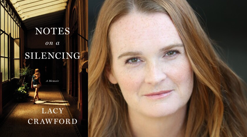 "Best-selling author Lacy Crawford and her new memoir ""Notes on a Silencing."""