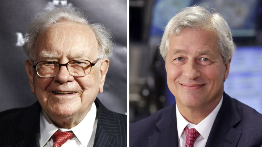 Investors Buffett and Dimon are encouraging public companies to stop predicting their quarterly earnings and focus on long-term goals.