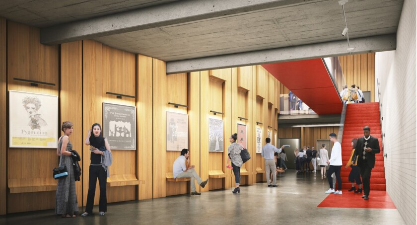 UCLA's new Whitney Family Theater in the Freud Playhouse will debut in early-to-mid 2024.