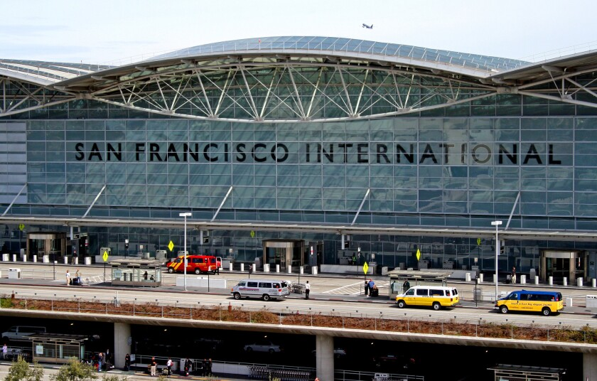 Up to 1,000 food workers at San Francisco International Airport went on strike Thursday morning, closing many of the airport's restaurants.