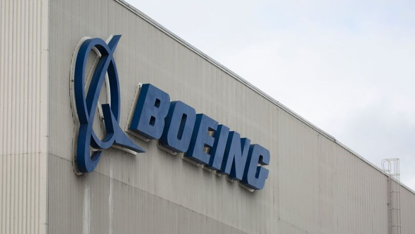 A Boeing worker is suing the company.