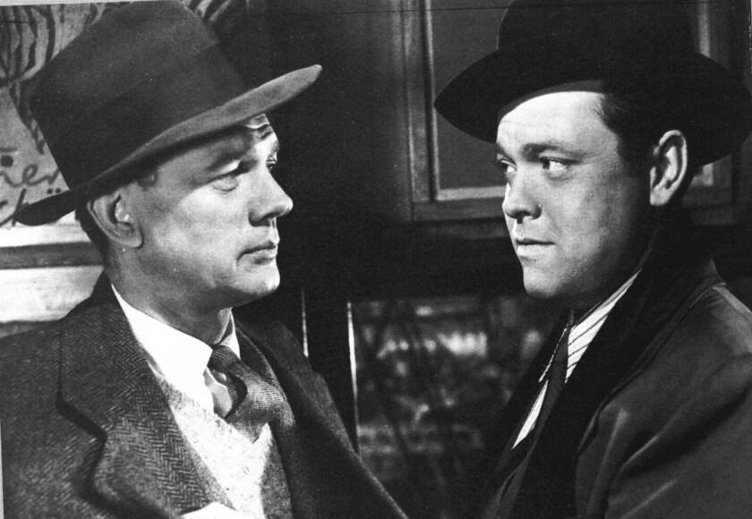The restored 1941 thriller 'The Third Man' will screen in 4K high-resolution at the Landmark Nuart