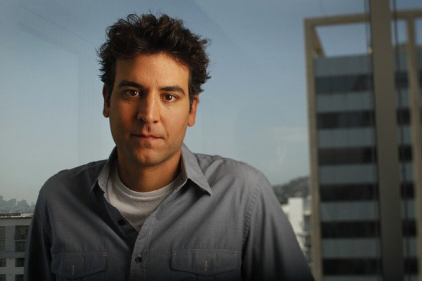 "Josh Radnor, actor, producer, director, and writer of his second film, ""Liberal Arts."""