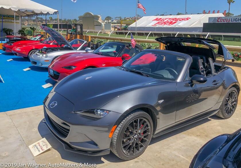 01804-20190628 & 0701 2019 Mazda MX-5 Miata RF Club at home & in the Car Shows at the San Diego County Fair-stills & video-iPhoneX