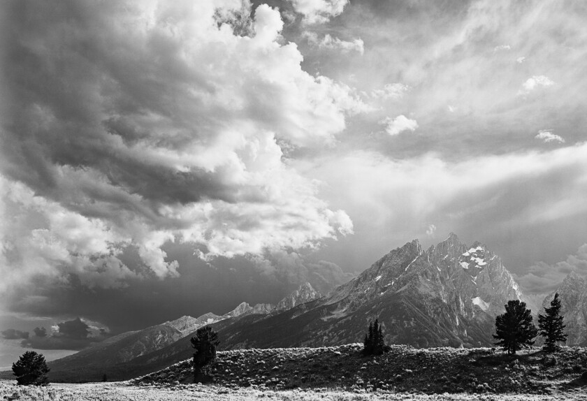 "Clearing Storm, Cathedral Group, Grand Teton National Park, from Terry Tempest Williams' new book ""T"
