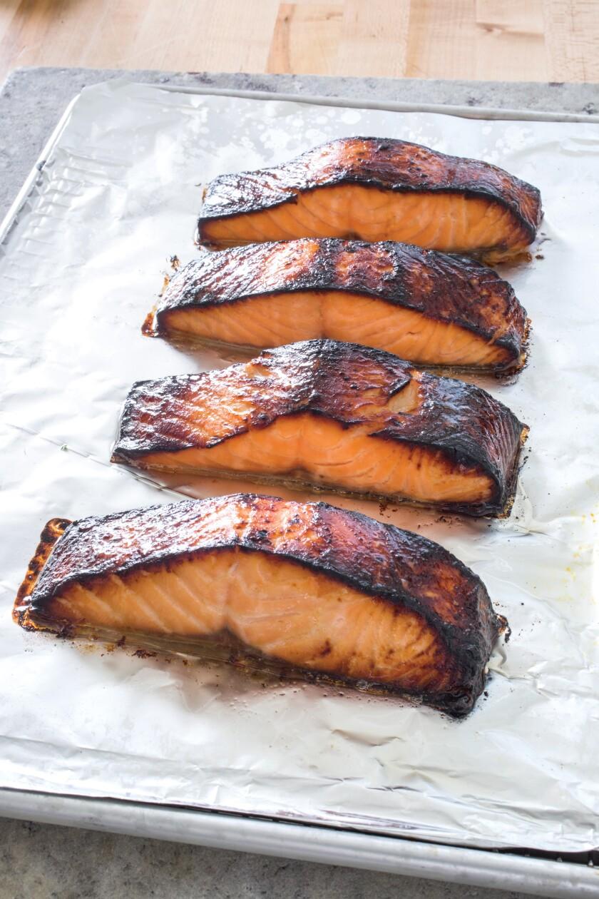 Miso Marinated Salmon Is Sweet And Savory The San Diego Union Tribune