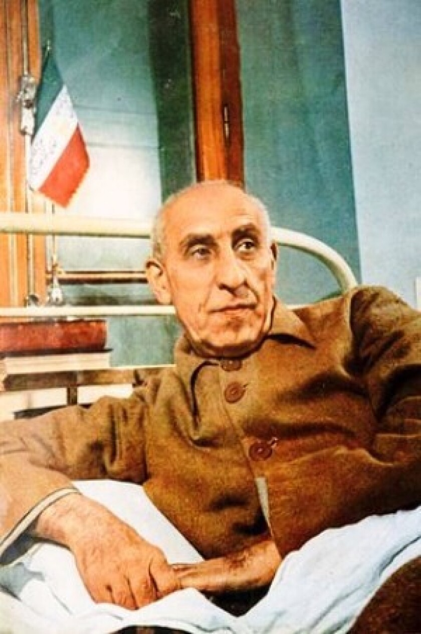 Nosratollah Amini was closely associated with Mohammad Mossadegh, who was overthrown by the shah in 1953.
